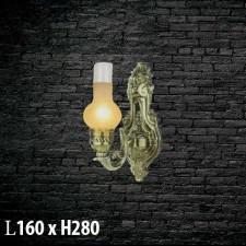 Đèn treo tường bằng đồng  V-397