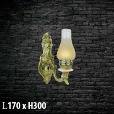 Đèn treo tường bằng đồng  V-399