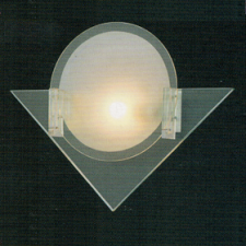 Đèn tường thủy tinh V-186