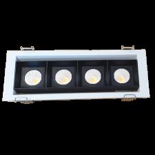 Đèn downlight âm trần D-173COB3-4  4*5W 3000K