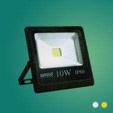 Đèn pha FA LED 10W mới vàng/trắng
