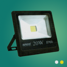 Đèn pha FA LED 20W mới vàng/trắng