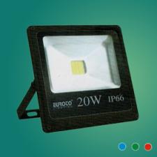 Đèn pha FA LED 20W mới xanh lá/xanh dương/đỏ