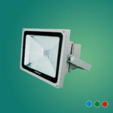 Đèn pha led FA LED 30W xanh lá/xanh dương/đỏ