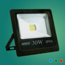 Đèn pha FA LED 30W mới xanh lá/xanh dương/đỏ