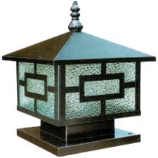 Đèn trụ cổng thiết kế đơn giản TD-1403E