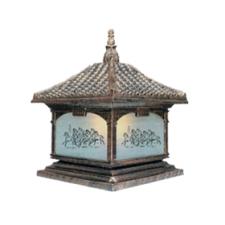 Đèn trụ cổng kiểu dáng đẹp TD-1435A 200 x 360