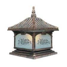 Đèn trụ cổng cổ điển TD-1435B 260 x 380