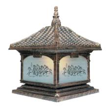 Đèn trụ cổng phong cách sang trọng TD-1435C 300 x 400