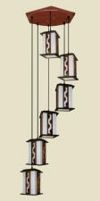Đèn thả da dê TG-518/6