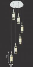 Đèn thả bàn ăn đẹp T-6070/6