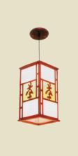 Đèn thả da dê TG-502/1