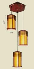 Đèn thả da dê TG-513/3