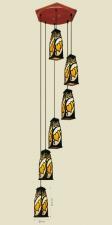 Đèn thả da dê TG-524/6