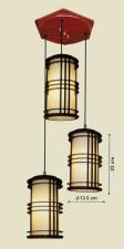 Đèn thả da dê TG-526/3