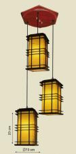 Đèn thả da dê TG-527/3