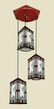 Đèn thả da dê TG-529/3