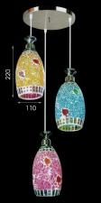 Đèn thả bàn ăn trang trí nội thất đẹp T-6063/3