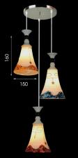 Đèn thả bàn ăn kiểu dáng đẹp T-6098/3