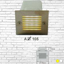 Đèn âm tường led 2W A105