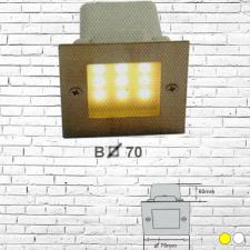 Đèn âm tường led 2W B70