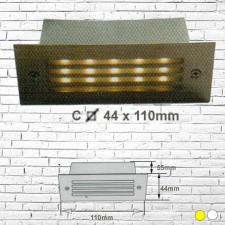 Đèn âm tường led 2W C44