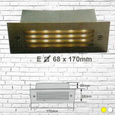 Đèn âm tường led 3W E68