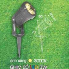Ghim Cỏ LED 3W