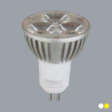 Bóng chén LED MR16 3W vàng/trắng