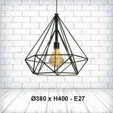 Đèn thả bàn ăn kim cương TE-127