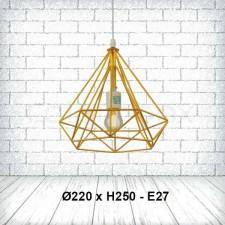 Đèn thả bàn ăn kim cương TE-129