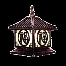 Đèn trụ cổng ngoại thất cao cấp TD-1436E  385 x H420