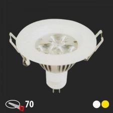 Đèn mắt ếch âm trần E-75 3W