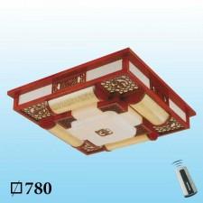 Đèn mâm trần gỗ MG-011 LED 3 màu