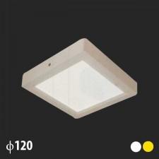 Đèn led ốp trần vuông 120x120 MSS-535 SMD 8W