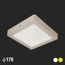 Đèn led ốp trần vuông 170x170 MSS-536 SMD 12W