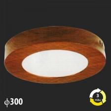 Đèn ốp trần nổi vân gỗ MSS-613 SMD 24W