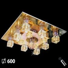 Đèn mâm ốp trần pha lê ML-2152