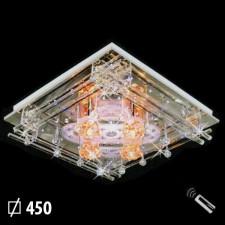 Đèn mâm pha lê trang trí phòng khách ML-8032