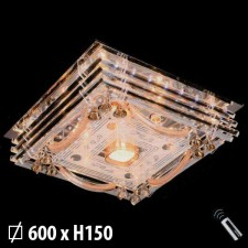 Đèn mâm pha lê áp trần ML-8121