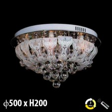 Đèn mâm áp trần pha lê ML-8147