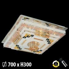 Đèn mâm ốp trần pha lê ML-8161