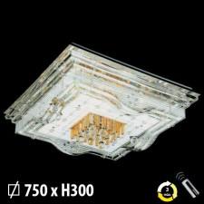 Đèn mâm ốp trần pha lê ML-8164