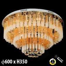 Đèn mâm ốp trần pha lê ML-8169