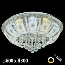 Đèn mâm ốp trần pha lê ML-8179