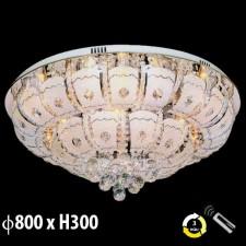 Đèn mâm pha lê trang trí phòng khách ML-8180