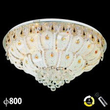 Đèn mâm pha lê trang trí phòng khách ML-8186