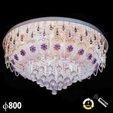 Đèn mâm pha lê trang trí phòng khách ML-8204